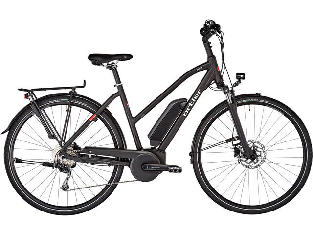 Ortler Bozen E-trekkingcykel Trapez sort (2019) | City-cykler